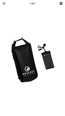 ODYSSEY Waterproof Roll Top Dry Bag w Free Waterproof Cell Phone Case - 623322194628f