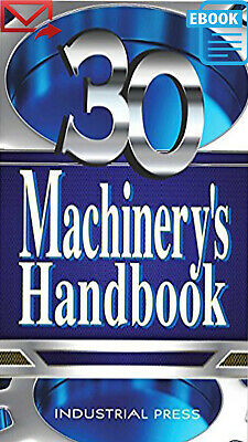 Machinery's Handbook, Toolbox Edition 30th Ed [PDF]