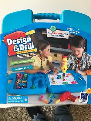 Educational Design Drill Insights Activity Center Power Tool Bolts