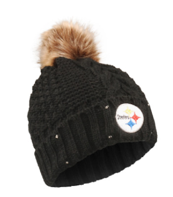 29e973c8 PITTSBURGH STEELERS WOMEN'S Knit Cap Beanie from Touch by Alyssa ...