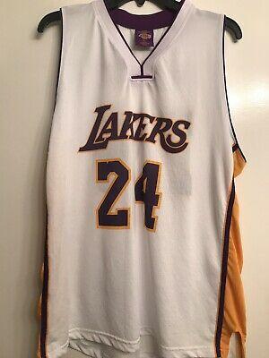 2298d46ea Links Marketing Group Los Angeles Lakers NBA Jersey -  24 Kobe Bryant - Size  XL