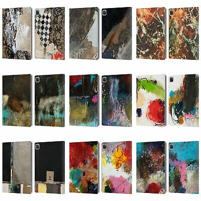 OFFICIAL MICHEL KECK ABSTRACT 2 LEATHER BOOK WALLET CASE COVER FOR APPLE iPAD