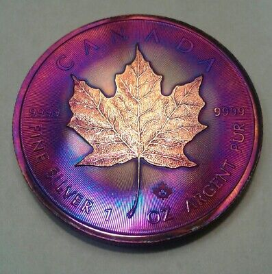 2019 Canadian Maple Leaf 1oz Silver Coin
