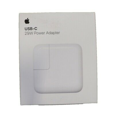 Genuine OEM Apple 29W USB-C Charger Power Adapter MJ262LL//A A1540 in Retail Box