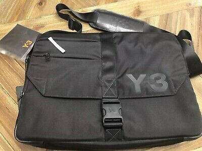 8d0f7c9d59cf Adidas Y-3 Yohji Yamamoto Messenger Bag Laptop Shoulder Carrying New With  Tags