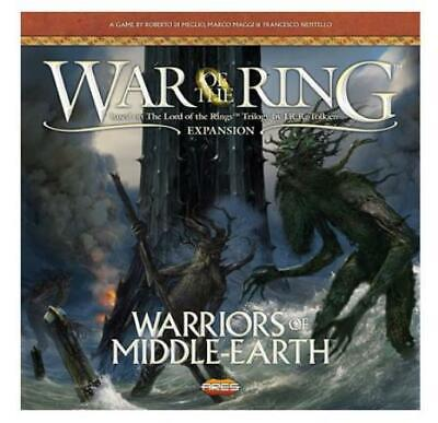 Ares LotR Boardgame Warriors of Middle Earth (1st Printing) Box NM