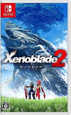 Used Nintendo Switch Xenoblade2 Xenoblade Chronicles 2 JAPAN OFFICIAL IMPORT