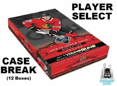 BOBBY ORR 2018-19 Upper Deck Series 2 Case Break 12 Box Boston Bruins