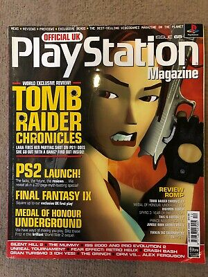 Official UK PlayStation Magazine, Issue no. 65, December 2000