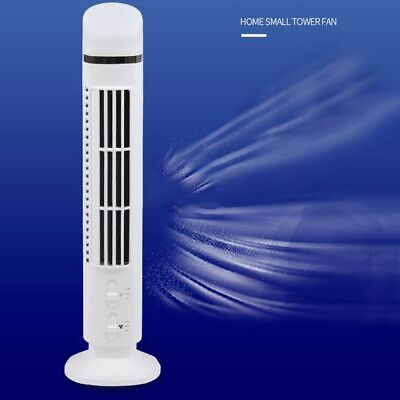 Portable USB Mini Bladeless Cooling Fan No Leaf Air Conditioner Fan Desk Tower