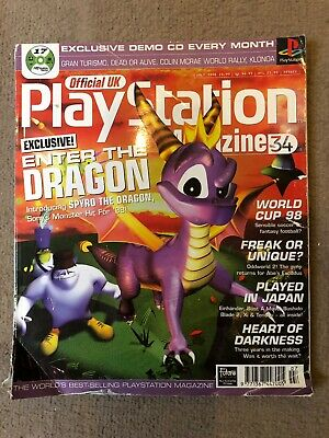 Official UK PlayStation Magazine, Issue no. 34, July 1998