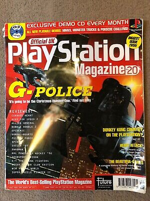 Official UK PlayStation Magazine, Issue no. 20, June 1997