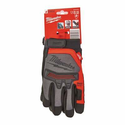 Milwaukee Work Gloves Demolition Gloves With Knuckle Protection Medium Large XL