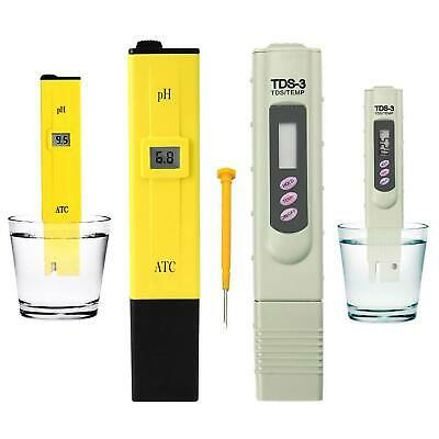Premium Digital PH Meter / TDS Tester Aquarium Pool SPA Water Quality Monitor OZ