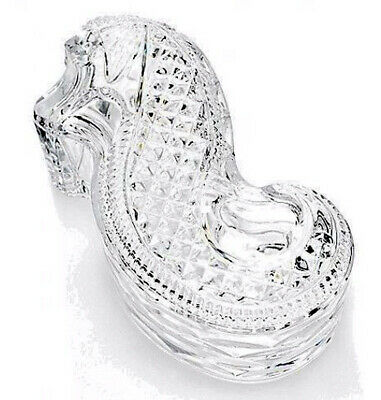 Waterford Crystal Seahorse Covered Box NEW