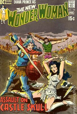 Wonder Woman (1st Series DC) #192 1971 GD/VG 3.0 Stock Image Low Grade