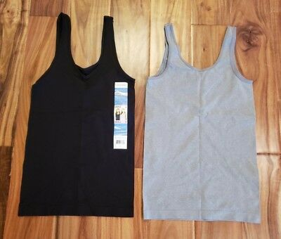 Intimates & Sleep Nwt Womens Grey Heather Ellen Tracy Reversible V-neck Or Scoop Camisole Xl Women's Clothing