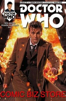 Doctor Who 10Th Year Two #9 (2016) 1St Printing Brooks Cover B Bagged & Boarded