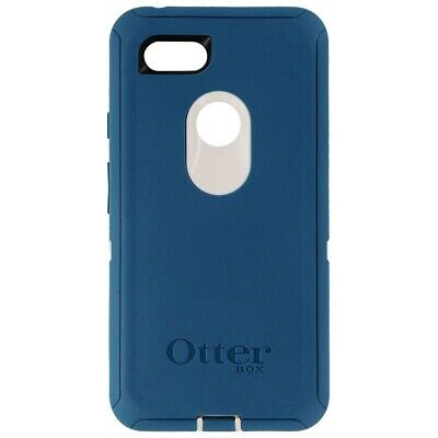 INCOMPLETE Otterbox Defender Case for Google Pixel 3 XL - Big Sur (Beige/Blue)