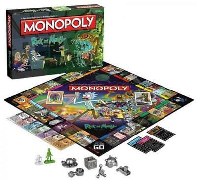 USAopoly Rick And Morty Monopoly Board Game Brand New