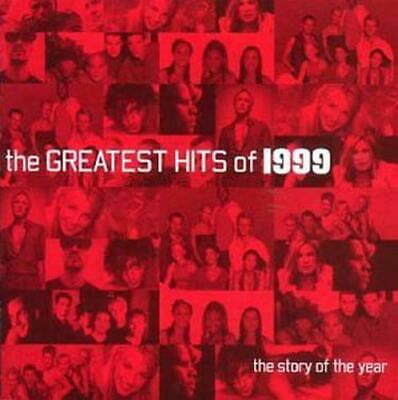 The Greatest Hits of 1999, Various Artists, Good,  Audio CD, FREE & Fast Deliver