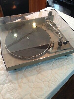 Technics SL1950 Direct Drive Automatic System Vintage Turntable AT Cart READ