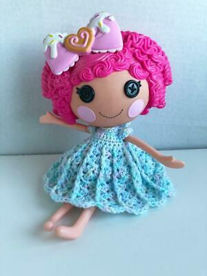 """Clothes for 12"""" Lalaloopsy Full Size Doll Outfit Dress Handmade OOAK Lot Cr-14"""