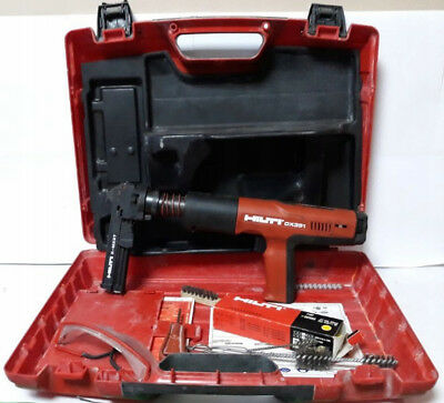 Hilti DX351- Fully Automatic Nail Gun in Case good condition!!!!