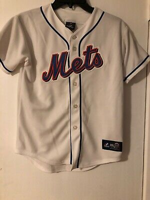 3797a3ce3 VINTAGE NEW YORK METS MAJESTIC JERSEY MENS Retro MLB Size Medium (M ...