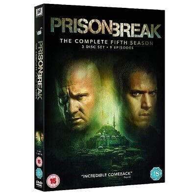 Prison Break The Complete Fifth 5th Season DVD Brand New Sealed & Free Delivery