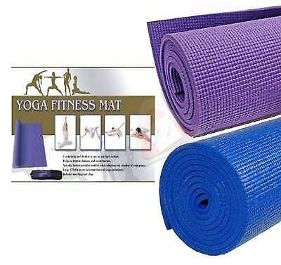 New Yoga Exercise Fitness Workout Mat Physio Pilates Festivals Camping Non Slip
