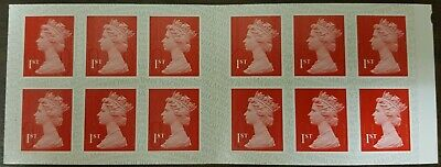 12 x 1st Class Royal Mail Postage Stamps NEW AND UNUSED