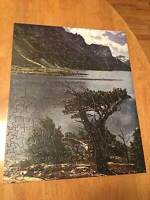 Hart Picture Puzzle, Rochester NY. Complete. Glacier National Park  300-500 pc