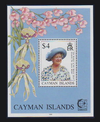 Cayman Is. - 1995 Queen Mother S/S. Sc. #709, SG #MS810. Mint NH