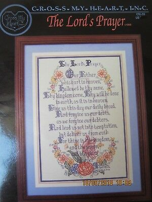 The Lord's Prayer Crossstitch Pattern Charted For Dmc Threads
