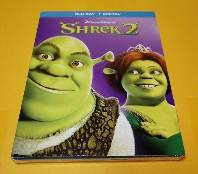 Shrek 2 (Blu-ray+HD Digital Code) Slipcover-Brand NEW-Free Shipping w/Tracking