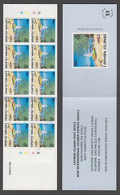 Cayman Is. - 1996 $3 National Identity Booklet. Sc. #725, SG #SB6. Mint NH