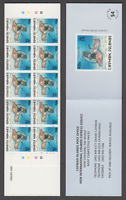 Cayman Is. - 1996 $4 National Identity Booklet. Sc. #726, SG #SB7. Mint NH