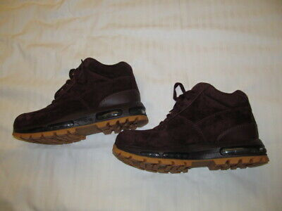 huge selection of 314e9 0612f Nike Air Max Goadome Suede ACG 599474 600 man deep burgundy boots Brand New