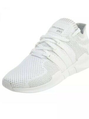 buy popular 66a9c 0ba4b Adidas EQT Support ADV PK Mens BY9391 White Primeknit Running Shoes Size 8