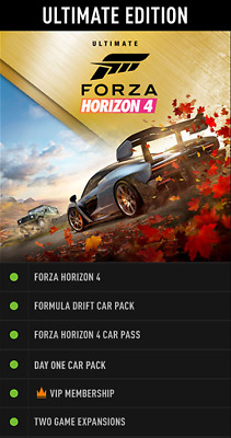 Forza Horizon 4 Ultimate Edition for PC [ACTIVATION] [NO CODE NO CD KEY]