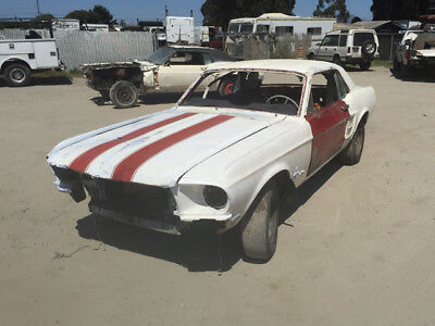 1967 Ford Mustang Coupe 1967 Ford Mustang 289 Coupe V-8 project