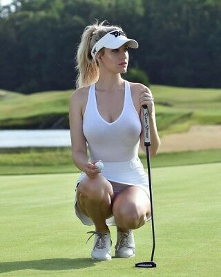 Golf Superstar Paige Spiranac Hot Pin Up Approx 8 * 10 Inch  High Quality Photo