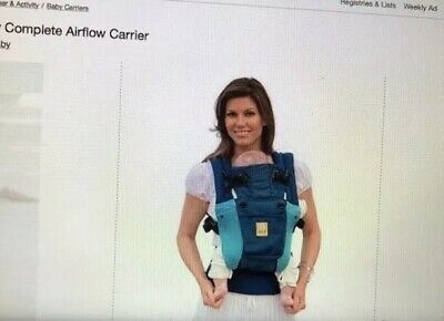 lillebaby carrier complete airflow 6 positions in blue