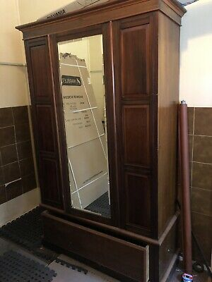 Antique Timber Wardrobe
