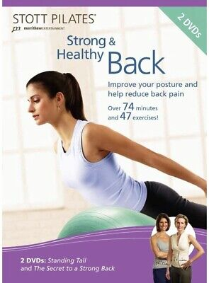 STOTT PILATES Strong and Healthy Back DVD 2 DVD Set Brand New Free Shipping