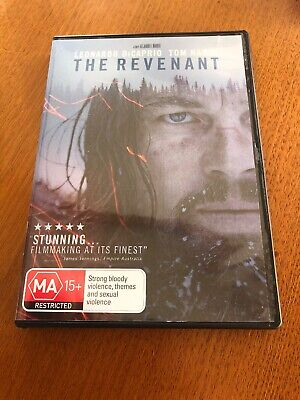 The Revenant (MA) DVD Leonardo DiCaprio Like New Free Postage