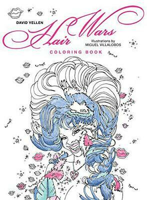 Hair Wars Coloring Book (Colouring Books) by David Yellen, NEW Book, (Paperback)