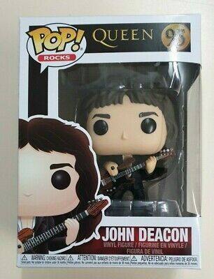 Funko Pop! Queen - John Deacon #95 Vinyl Figure - NEW
