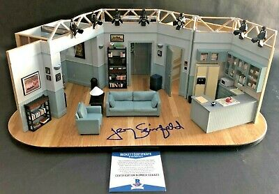 Jerry Seinfeld Limited Signed Set Replica Of Apartment Autograph Beckett Bas Coa